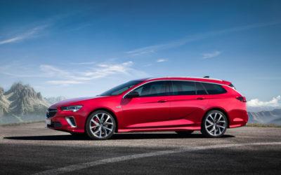 Novo Opel Insignia GSi apresenta-se em Bruxelas